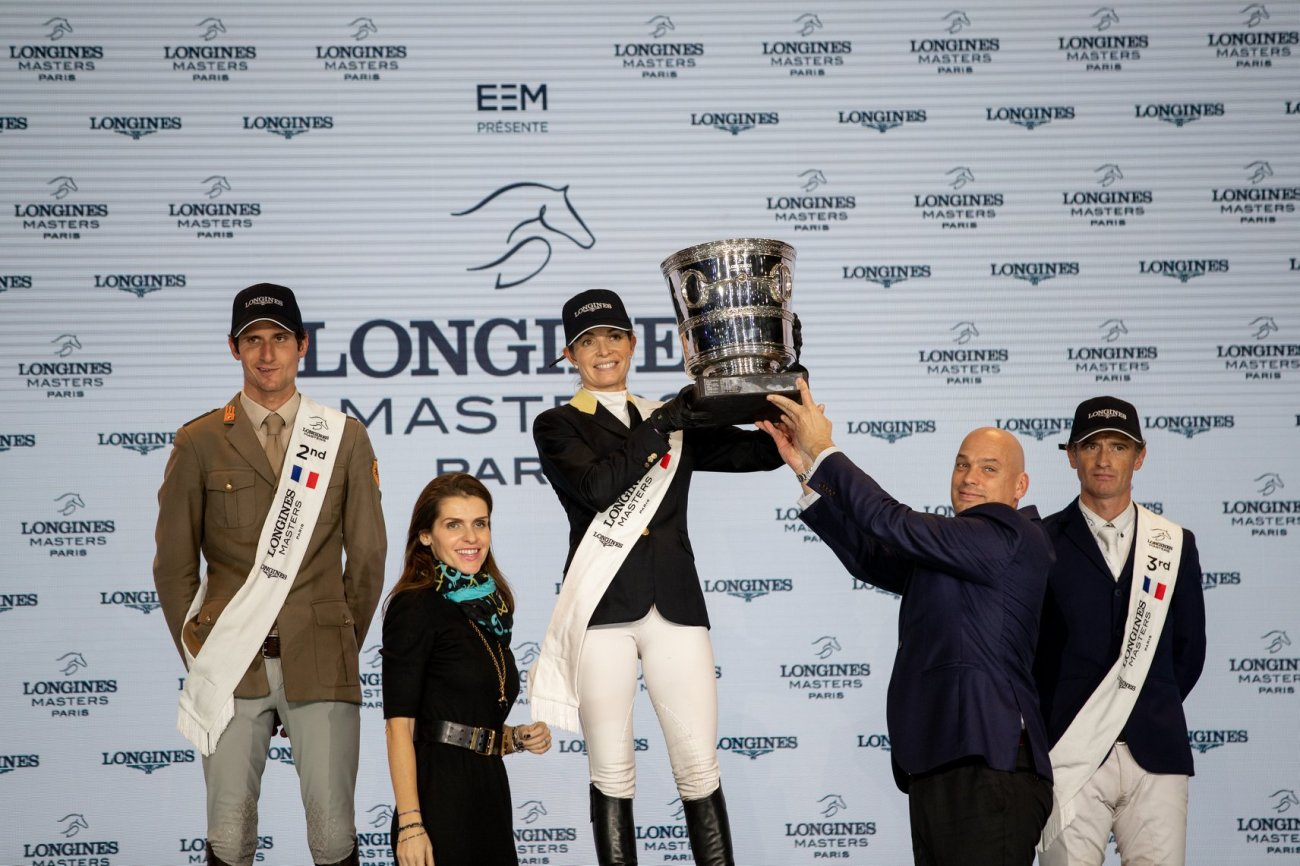 Edwina makes history in Paris