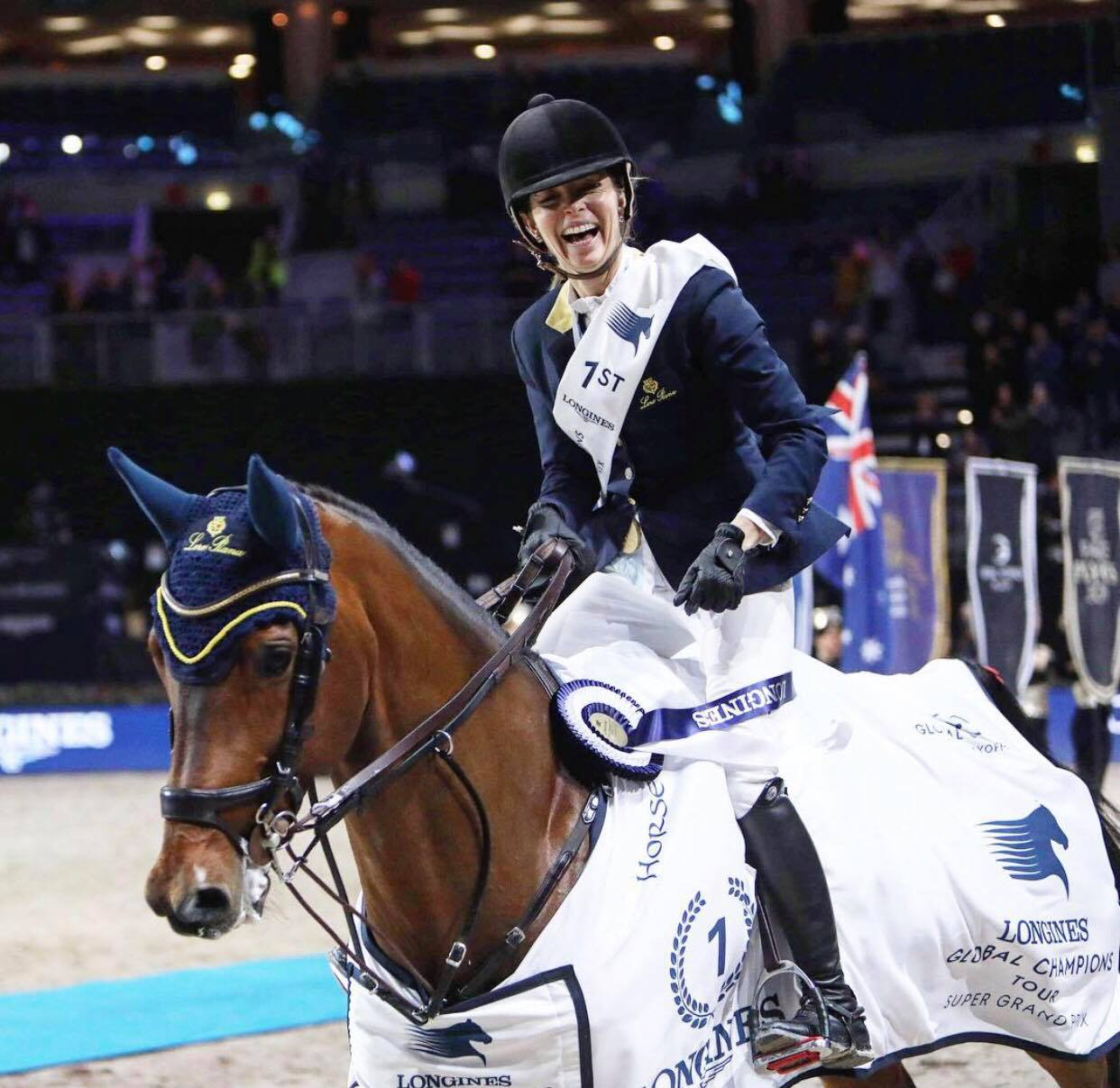 Edwina wins Super Grand Prix in Prague